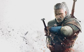 Picture sword, male, the Witcher, The Witcher 3: Wild Hunt, The Witcher 3: Wild Hunt