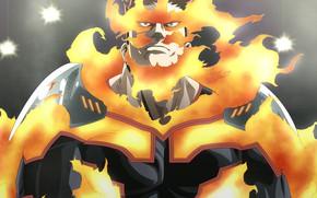 Picture fire, man, Boku no Hero Academy, My Hero Academia, My heroic academia, Todoroki
