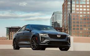 Picture Cadillac, sedan, four-door, 2020, CT4-V, before