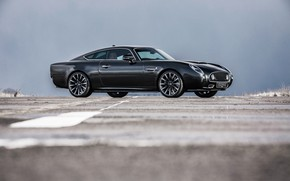 Picture coupe, side view, 2018, Jaguar XKR, V8, Speedback, two-door, David Brown Automotive, Silverstone Edition