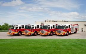 Picture pump, fire trucks, Pierce Impel 1500/750 pumper