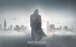 Picture The game, Art, Illustration, Concept Art, Watch Dogs, Character, Revenge, Watchdogs, Aiden Pearce, Hackers, Watchdogs, …