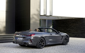 Picture BMW, convertible, the wall, 2019, BMW M8, M8, F91, M8 Competition Convertible, M8 Convertible