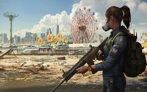 Picture girl, the city, agent, Ubisoft, new York, Game, Tom Clancy's The Division 2, The Division …
