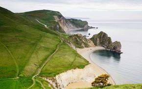 Picture England, Nature, Sea, Beach, Rocks, Shore, Landscape