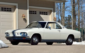 Picture Chevrolet, Classic, White, Corvair, Yenko Stinger Stage 1
