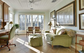 Picture design, style, interior, living room, New Jersey Home