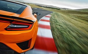 Picture Honda, racing track, Acura, NSX, 2019