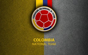Picture wallpaper, sport, logo, football, Colombia, National team