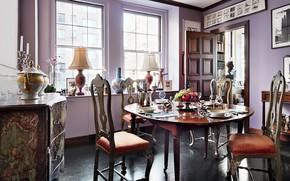 Picture style, room, interior, dining room, Eclectic Prewar Manhattan Apartment