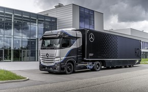 Picture Mercedes Benz, Actros, GenH2 Truck