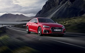Picture road, Audi, speed, 2020, Coupe TDI, Aud S5
