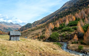 Picture nature, Tyrol, Erlsbach, St. Jakob in Defereggen