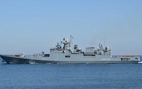 Picture frigate, The black sea, the project 11356, Admiral Essen