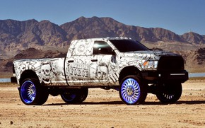 Picture Dodge, Tuning, Truck, Desert, OFF ROAD