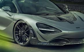 Picture McLaren, supercar, front view, Spider, Novitec, 720S, 2019