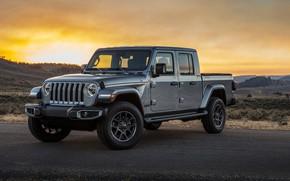 Picture Gladiator, Jeep, Overland, 2019, Jeep Gladiator Overland