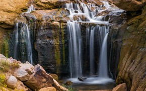Picture nature, waterfall, beauty