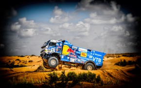 Picture Sport, Machine, Truck, Race, Master, Russia, 2018, Kamaz, Rally, KAMAZ-master, Rally, KAMAZ, The roads, Best, …