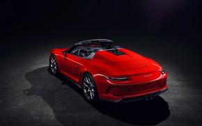 Picture 911, Porsche, rear view, 2018, Speedster, Concept II