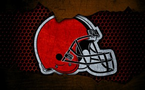 Picture wallpaper, sport, logo, NFL, american football, Cleveland Browns