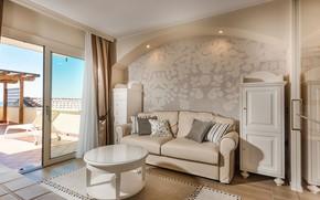Picture interior, terrace, living room, relax suite, Vigilio