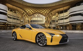 Picture Lexus, Yellow, Limited Edition, LC 500, Lexus LC 500, Lexus LC 500 Limited Edition