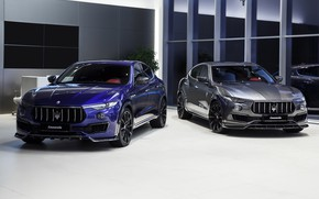 Picture Maserati, pair, crossover, Larte Design, 2017, Levante
