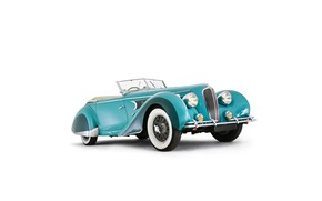 Picture classic car, 1939, 135 MS, delahaye
