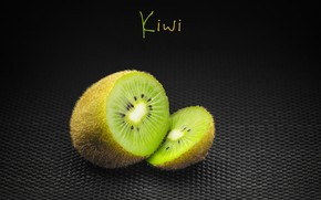 Picture the inscription, kiwi, fruit