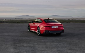 Picture Audi, rear view, Sportback, RS 7, RS7, 2020