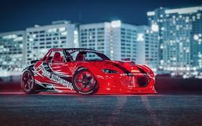 Picture Red, Auto, Machine, Tuning, Drift, Car, Auto, Render, Miata, Rendering, Transport, MX-5, Mazda MX-5, Transport …