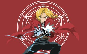 Picture guy, Edward, Fullmetal Alchemist, Fullmetal Alchemist