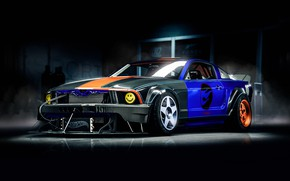 Picture Mustang, Ford, Auto, Machine, Ford Mustang, Art, Transport, Frankenstein, Blind Sarathonux, Forza Motorsport 6, by …