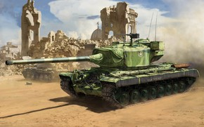 Picture USA, heavy tank, T29, Т29E3