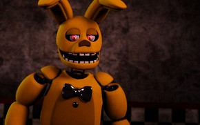 Picture the game, hare, Five Nights at Freddy's, Five nights at Freddy's, mechanical doll