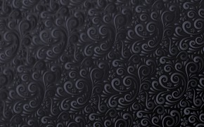 Picture background, pattern, black, ornament