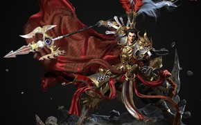 Picture the game, fantasy, art, costume design, 翼次方 CG, Minutes town of Xian Lu BU to …