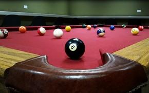 Wallpaper sport, ball, Billiards