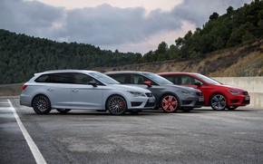Picture side, Seat, 2015, Leon Cupra ST, station wagons