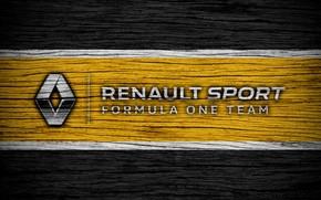 Picture Renault, wallpaper, sport, logo, Formula 1