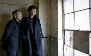 Picture window, Martin Freeman, Benedict Cumberbatch, Sherlock, Sherlock BBC, Sherlock Holmes, John Watson, Sherlock (TV series)