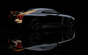 Picture Nissan, side, 2018, ItalDesign, GT-R50 Concept