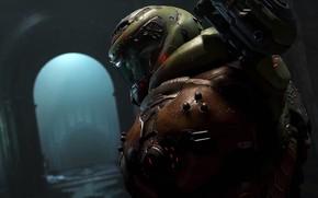 Picture look, armor, Bethesda, id Software, doomguy, 2019, DOOM Eternal, soldiers of the rock