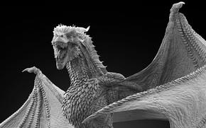Picture background, dragon, sculpture, dragon