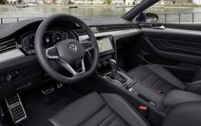 Picture Volkswagen, salon, Passat, R-Line, Variant, 2019