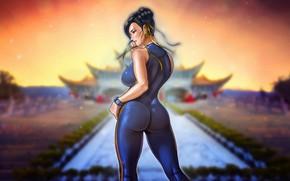 Picture Girl, Art, Art, Figure, Street Fighter, Chun-Li, Chun Li, Characters, Game Art, madeinkipish, Comic Art, …