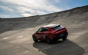 Picture Aston Martin, speed, crossover, DBX, 2020