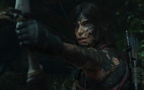 Picture bow, jungle, hunting, shadow of the tomb raider