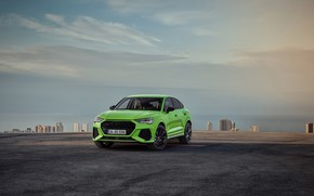 Picture Audi, the evening, crossover, Sportback, 2020, RS Q3